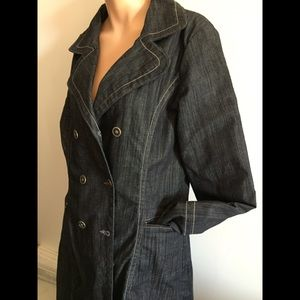SzL Hilfiger Trench doublebreasted jean